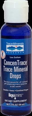 "Joniniai 72+ mineralai ""CONCENTRACE"""