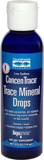 ConcenTraceMineral Drops  4oz.