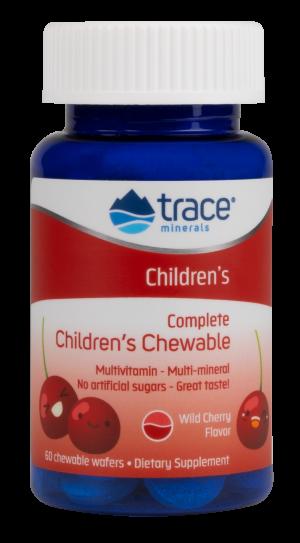 Kramtomas Multi vitaminų ir mineralų kompleksas vaikams - N60