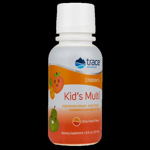 KIDS MULTI maisto papildas multivitaminas vaikams su mineralais