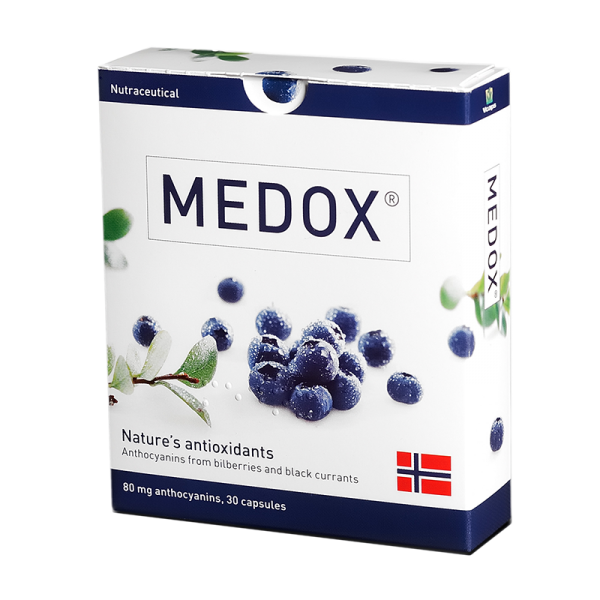 medox maisto papildas antocianinai antioksidantai melynes juodieji serbentai